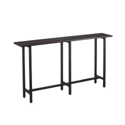 "Southern Enterprises Hendry Console Table, 30""H x 54""W x 10""D, Espresso/Matte Black"