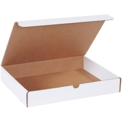"""Office Depot® Brand White Literature Mailers, 13"""" x 10"""" x 2"""", Pack Of 50"""