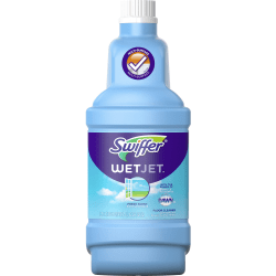 Swiffer WetJet Floor Cleaner - Liquid - 42.2 fl oz (1.3 quart) - Open-Window Fresh Scent - 1 Bottle - Clear