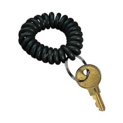 PM Wrist Key Coil - Plastic - 1 Each - Black