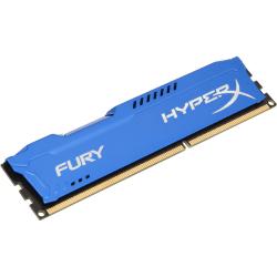 Kingston HyperX Fury 4GB DDR3 SDRAM Memory Module - For Desktop PC - 4 GB (1 x 4 GB) - DDR3-1333/PC3-10667 DDR3 SDRAM - CL9 - 1.50 V - Non-ECC - Unbuffered - 240-pin - DIMM
