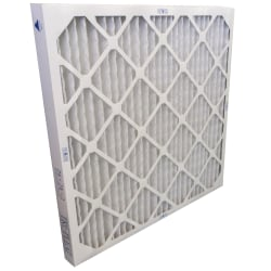 16x20x2 Tri-Dim PRO Antimicrobial Merv 8 pleated Air Filters, Pack Of 12 Filters