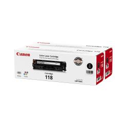 Canon 118, Black Toner Cartridges (2662B004AA), Pack Of 2