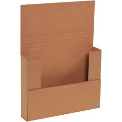 "Office Depot® Brand Multi-Depth Easy-Fold Mailers, 11 1/8"" x 8 5/8"" x 2"", Kraft, Pack Of 50"