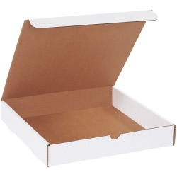 """Office Depot® Brand White Literature Mailers, 12"""" x 12"""" x 2"""", Pack Of 50"""