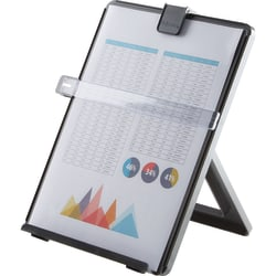 Fellowes® Nonmagnetic Desktop Copyholder, Black