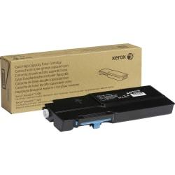 Xerox VersaLink C400 - High Capacity - cyan - original - toner cartridge - for VersaLink C400, C405
