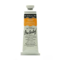 Grumbacher P031 Pre-Tested Artists' Oil Colors, 1.25 Oz, Cadmium Barium Yellow Deep