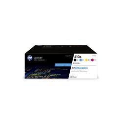 HP LaserJet 410A Black/Cyan/Magenta/Yellow Toner Cartridges (CF410AQ), Pack Of 4 Toner Cartridges