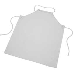 SKILCRAFT Food Handler's Disposable Apron - Poly, Nylon - For Food - Clear - 1 Each