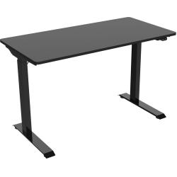 "FlexiSpot Vici 48""W Quick-Install Height-Adjustable Desk, Black"