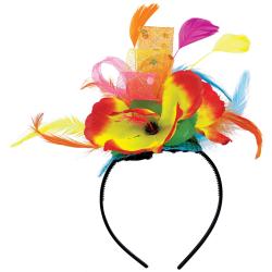 Amscan Summer Luau Hibiscus Fashionista Headband, One Size