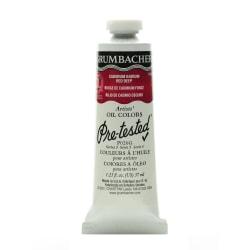 Grumbacher P026 Pre-Tested Artists' Oil Colors, 1.25 Oz, Cadmium Barium Red Deep
