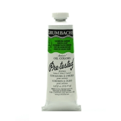 Grumbacher P020 Pre-Tested Artists' Oil Colors, 1.25 Oz, Cadmium Barium Green Light