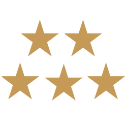 """Teacher Created Resources Gold Stars Foil Stickers, 1/2"""", Gold, Pre-K - Grade 12, Pack Of 294"""