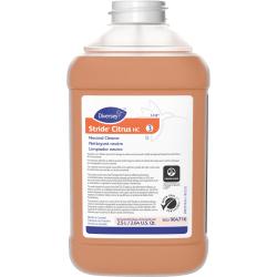 Diversey™ Stride® Citrus HC Neutral Cleaner, Citrus Scent, 2.5L, J-fill, 2/CT