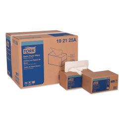 "Tork® Multipurpose Paper Wipers, 9"" x 10-1/4"", 110 Sheets Per Box, Carton Of 18 Boxes"
