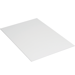 """Office Depot® Brand Plastic Corrugated Sheets, 24"""" x 36"""", White, Pack Of 10"""
