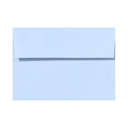 """LUX Invitation Envelopes With Peel & Press Closure, A9, 5 3/4"""" x 8 3/4"""", Baby Blue, Pack Of 500"""