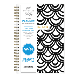 """Dabney Lee for Blue Sky™ CYO Academic Weekly/Monthly Planner, 5"""" x 8"""", Multicolor, July 2020 to June 2021, 118897"""