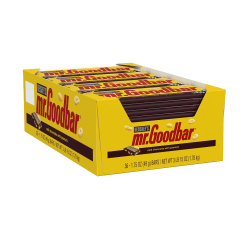 Mr. Goodbar Milk Chocolate Bars, Box Of 36