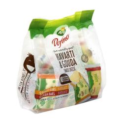 Arla Havarti And Gouda Cheese Snacks, 0.75 Oz, Pack Of 24