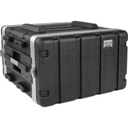 "Tripp Lite 6U ABS Server Rack Equipment Flight Case for Shipping & Transportation - External Dimensions: 22"" Width x 22.7"" Depth x 12.1"" Height - 100 lb - Latch Lock Closure - Heavy Duty - ABS Plastic - Black"