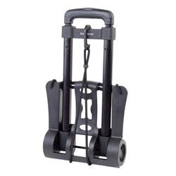 "Samsonite® Compact Folding Luggage Cart, 70 Lb. Capacity, 37""H x 10""W x 12""D, Black"