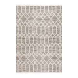 Anji Mountain Raani Jute And Wool Rug, 9' x 12', Brown/Ivory