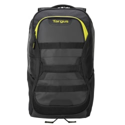 Targus® Work And Play Fitness Laptop Backpack, Black