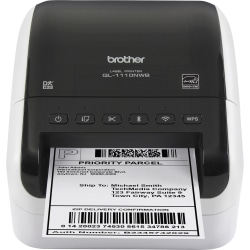 Brother® QL-1110NWB Monochrome (Black And White) Direct Thermal Printer