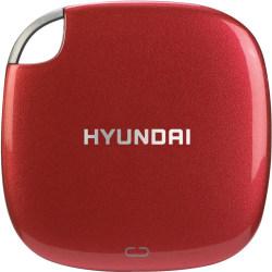Hyundai External SSD - 512GB - Up to 450MB/s - Gen USB 3.1 - USB-C to C, USB-A to C - Red