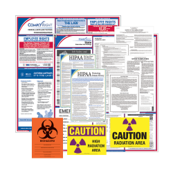 ComplyRight Federal/State Labor Law And Healthcare Poster Kit, English, Connecticut