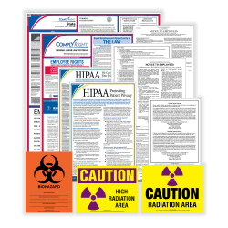 ComplyRight Federal/State Labor Law And Healthcare Poster Kit, English, Indiana