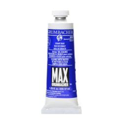 Grumbacher Max Water Miscible Oil Colors, 1.25 Oz, Cobalt Blue