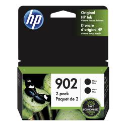 HP 902 Black Ink Cartridges (3YN96AN#140), Pack Of 2