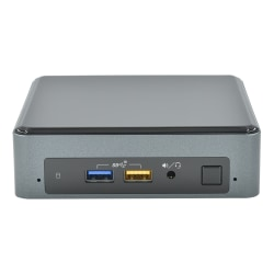 SimplyNUC NUC8i5BEK Mini Desktop PC, Intel® Core™ i5, 8GB Memory, 256GB Solid State Drive, Windows® 10 Home, 910-DM0A-041