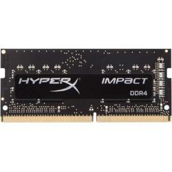 Kingston HyperX Impact 16GB (2 x 8GB) DDR4 SDRAM Memory Kit - 16 GB (2 x 8GB) - DDR4-2933/PC4-23400 DDR4 SDRAM - 2933 MHz - CL17 - 1.20 V - Non-ECC - Unbuffered - 260-pin - SoDIMM