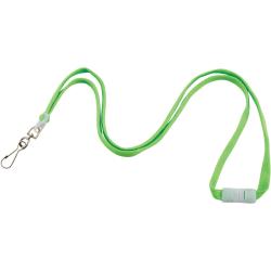 "Advantus Neon Breakaway Lanyard - 12 / Pack - 0.5"" Width x 36"" Length - Neon Green"