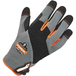 3M™ 710 Heavy-Duty Utility Gloves, Medium, Gray