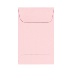 """LUX Coin Envelopes, #1, 2 1/4"""" x 3 1/2"""", Candy Pink, Pack Of 250"""