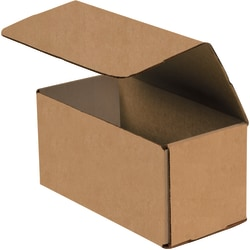 """Office Depot® Brand Corrugated Mailers, 12"""" x 4"""" x 4"""", Kraft, Pack Of 50"""