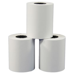 """Office Depot® Brand Thermal Preprinted Paper Rolls, 2 1/4"""" x 85', White, Pack Of 9"""