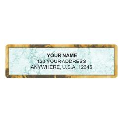 """Custom Address Labels, 2-1/2"""" x 3/4"""", Venetian, Pack Of 144 Labels"""