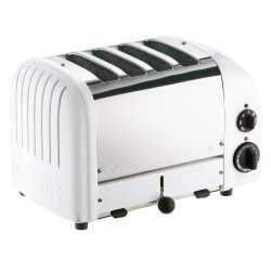 Dualit® New Gen 4-Slice Extra-Wide-Slot Toaster, White