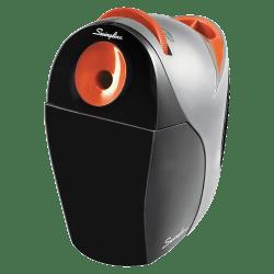 Swingline® Optima® Electric Pencil Sharpener, Black/Orange