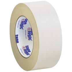 "Tape Logic® Double-Sided Masking Tape, 3"" Core, 2"" x 108', Tan, Case Of 3"