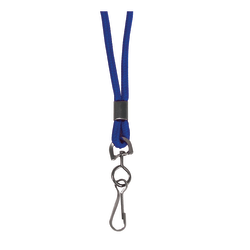 """C-Line® Standard Lanyards With Swivel Hooks, 36""""L, Blue, Pack Of 24"""