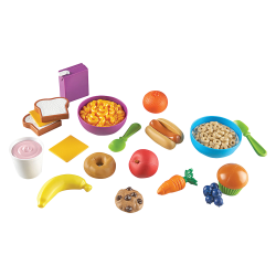 New Sprouts - Munch It! Play Food Set - 1 / Set - 2 Year to 6 Year - Plastic