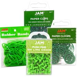 JAM Paper® 4-Piece Office Set, Green
